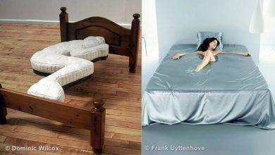 Photo of 14 تصميم لسرير مميز يثبت أن السرير ليس من الضروري أن يكون مملّ